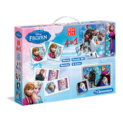 CLEMENTONI - Edukit 4 in 1 Frozen