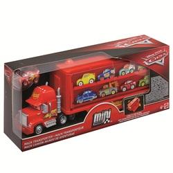 MATTEL - Cars - Mack Trasportatore Mini Racers con un Mini Racer incluso