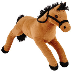 IN PROGRESS - PELUCHE CAVALLO SDRAIATO CM.50