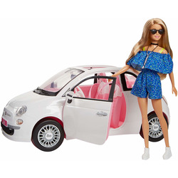 MATTEL - Barbie Fiat 500
