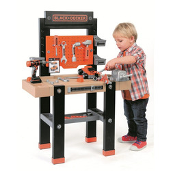 SMOBY - Black+Decker Bricolo Center Con 92 Accessori