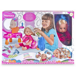 FAMOSA - Bambola Nenuco Con Tanti Accessori Da Parruchiera