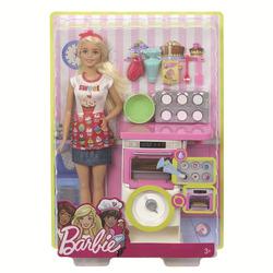 """MATTEL - Barbie - Playset Pasticceria, bambola con forno e dolci che """"lievitano"""""""