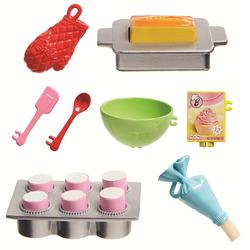 """Barbie - Playset Pasticceria, bambola con forno e dolci che """"lievitano"""""""