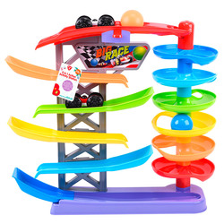 ONE TWO FUN - Racer Playset Con 4 Accessori