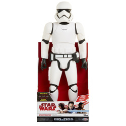 JAKKS PACIFIC - Star Wars VIII- Big Figure First Order Stormtrooper 50Cm