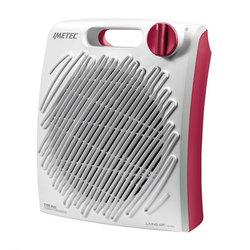 Imetec - C2-200 4014, Fan electric space heater, 1,5 m, Interno, Tavolo, Rosso, Bianco, Manopola