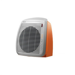 DeLonghi - HVY1020.O, Stufetta con elettroventola, Interno, Tavolo, Arancione, 2000 W, 1000 W