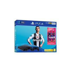Sony - PS4 500GB + FIFA 19 + secondo Dualshock 4
