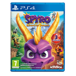 Sony - PS4 Spyro Reignited Trilogy, PlayStation 4, Piattaforma, E (tutti)