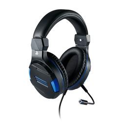 Bigben Interactive - PS4OFHEADSETV3, Console di gioco + PC/giochi, Stereofonico, Padiglione auricolare, Nero, Blu, Cablato, 220 m