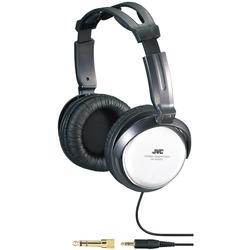JVC - HA-RX500, Circumaurale, Padiglione auricolare, Cablato, 10 - 22000 Hz, 3,5 m, Nero, Bianco