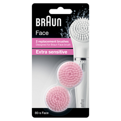 Braun - Face SE 80-s Refill, Testina per spazzola per viso, Beurer, Face, Pelle sensibile, 14 g, 2 pezzo(i)