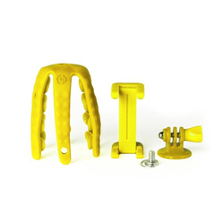 Celly - CE)FLEXIBLE MINI TRIPOD GIALLO