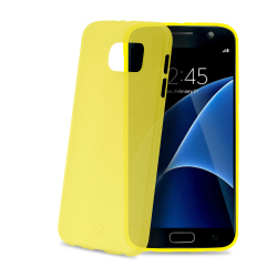 Celly - Frost, Cover, Samsung, Galaxy S7, Giallo