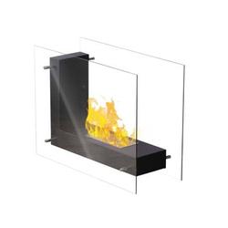 Qlima - Caminetto elettrico Decorativo A Bioetanolo  FFB830
