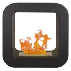 Qlima - Caminetto elettrico Decorativo A Bioetanolo nero FFB4242