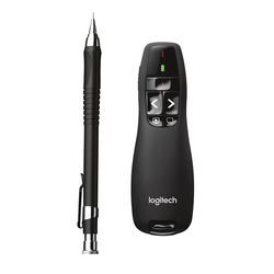 Logitech - R400, RF, 2.4 GHz, 15 m, AAA, 20 h, USB