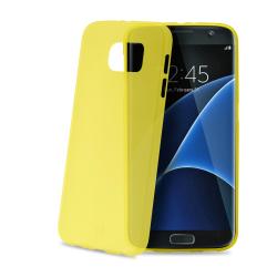 Celly - Frost, Cover, Samsung, Galaxy S7 Edge, Giallo
