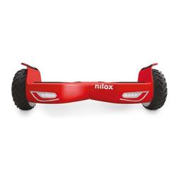 Nilox - 30NXBK65NWN08, 10 km/h, 12 km, Nero, Rosso, 100 kg, 4300 mAh, 180 W
