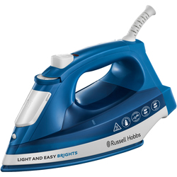 Russell Hobbs - Ferro a vapore, 2 m, 90 g/min, Blu, Bianco  24830-56