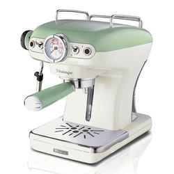 Ariete - 1389, Libera installazione, Macchina per espresso, 0,9 L, Caffè macinato, 900 W, Beige, Verde