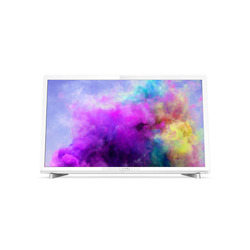 "Philips - TV LED ultra sottile Full HD 24PFS5603/12, 61 cm (24""), 1920 x 1080 Pixel, Full HD, LED, DVB-C,DVB-S,DVB-S2,DVB-T,DVB-T2,DVB-T2 HD, Bianco"