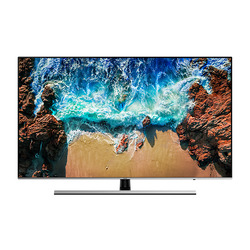 "Samsung - Series 8 UE49NU8000TXZT, 124,5 cm (49""), 3840 x 2160 Pixel, LED, Smart TV, Wi-Fi, Nero, Argento"