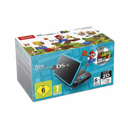 NINTENDO - Nintendo 2DS XL, Nero/Turchese + Super Mario 3D Land