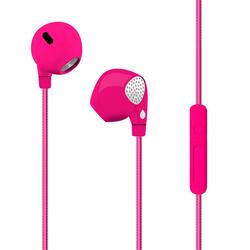 PURO - Auricolare con microfono Rosa - IPHF21PNK