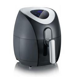 Severin - Friggitrice ad aria calda, Cestello da 3.2 Litri, 6 programmi di cottura senza olio o con poco olio, display touch LCD, 1500 W