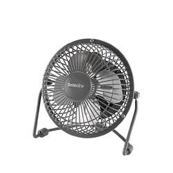 SELECLINE - Ventilatore domestico con pale Nero