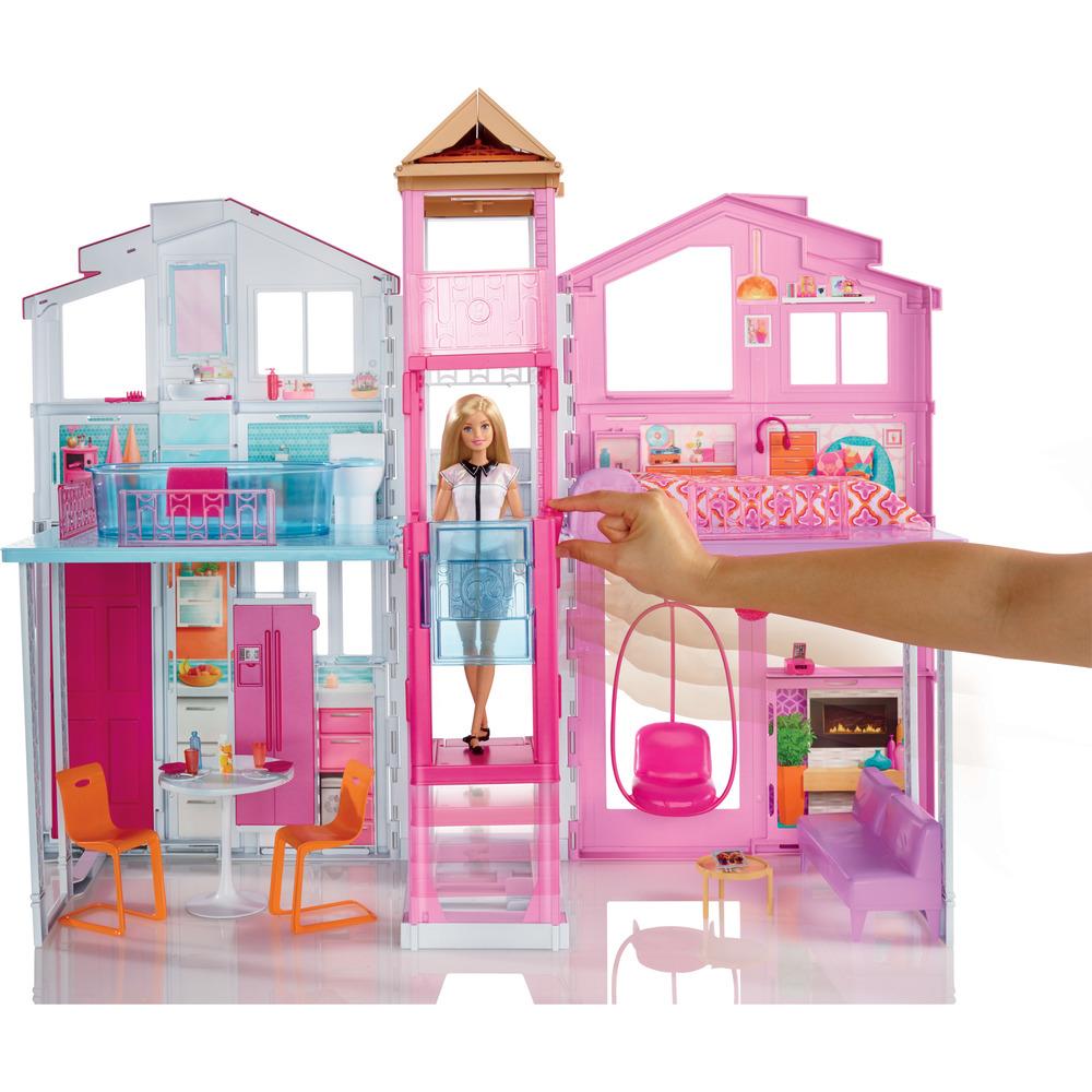 Mattel la casa di malibu di barbie shop online su auchan for Disegni di casa lastra