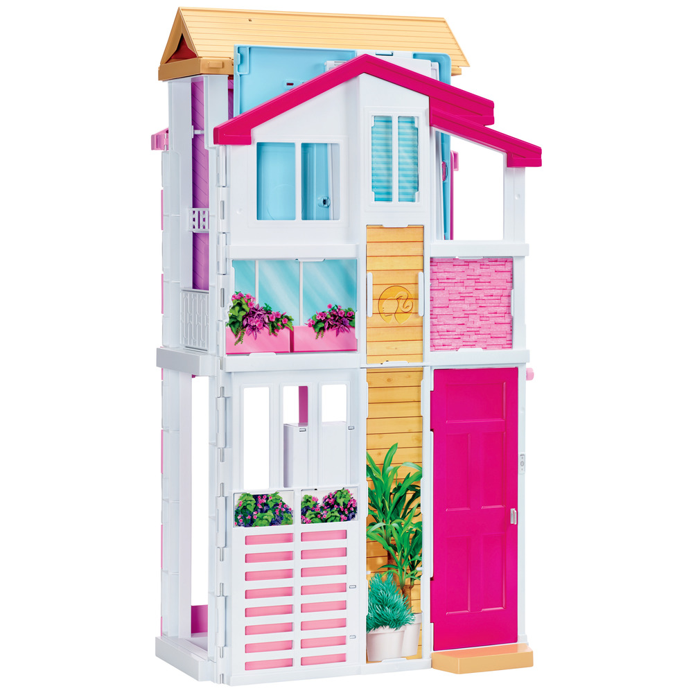 Mattel la casa di malibu di barbie shop online su auchan for Piscina di barbie