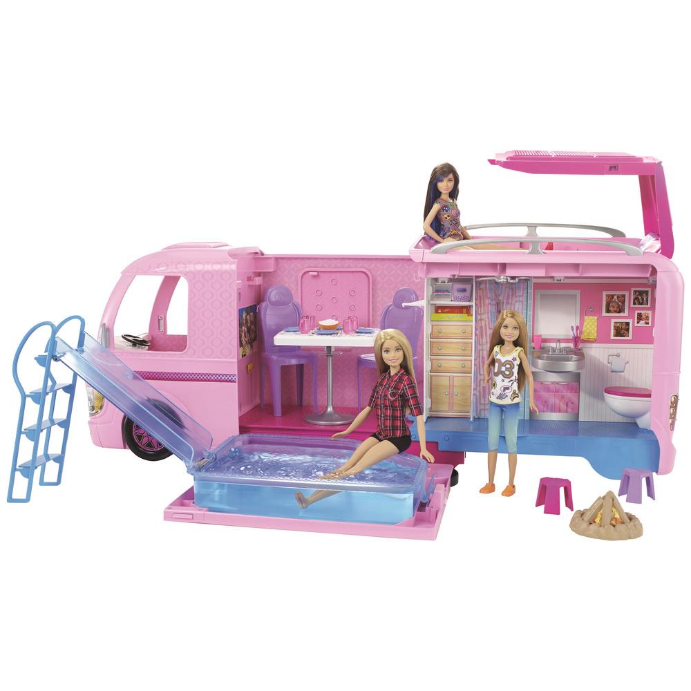 MATTEL Barbie - Camper dei Sogni con piscina, bagno, cucina e tanti ...