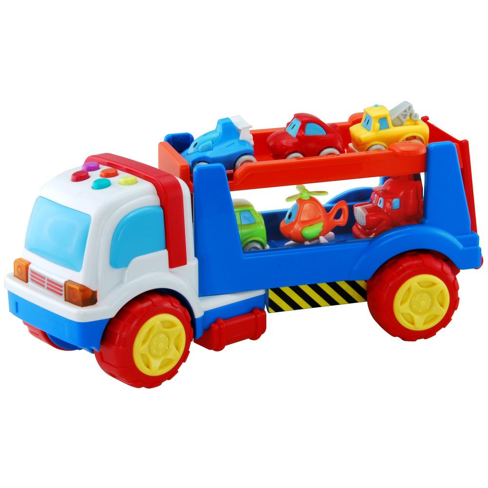 latest baby auchan il mio camion con rimorchio with pellet. Black Bedroom Furniture Sets. Home Design Ideas