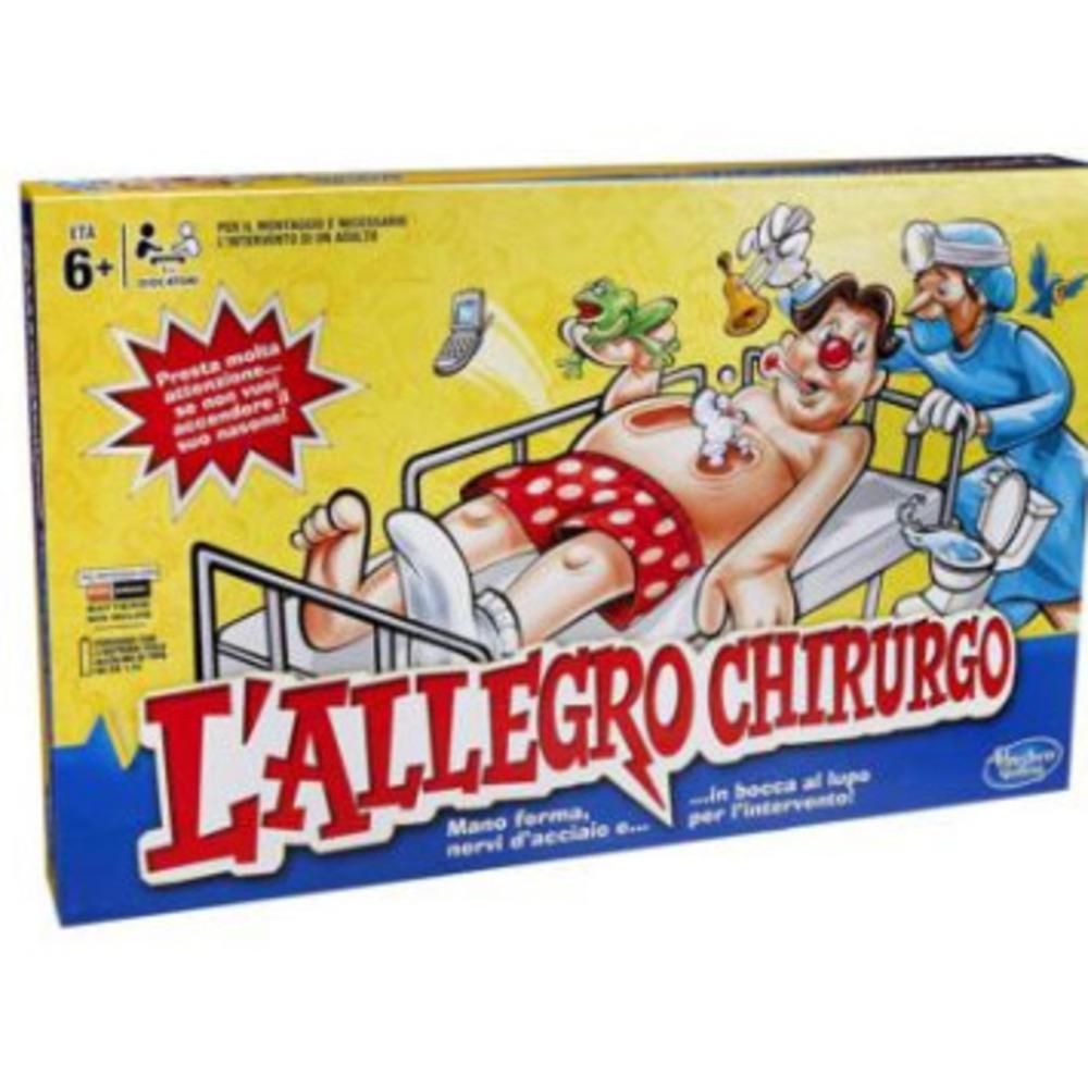 Hasbro l 39 allegro chirurgo shop online su auchan for L allegro stampatello