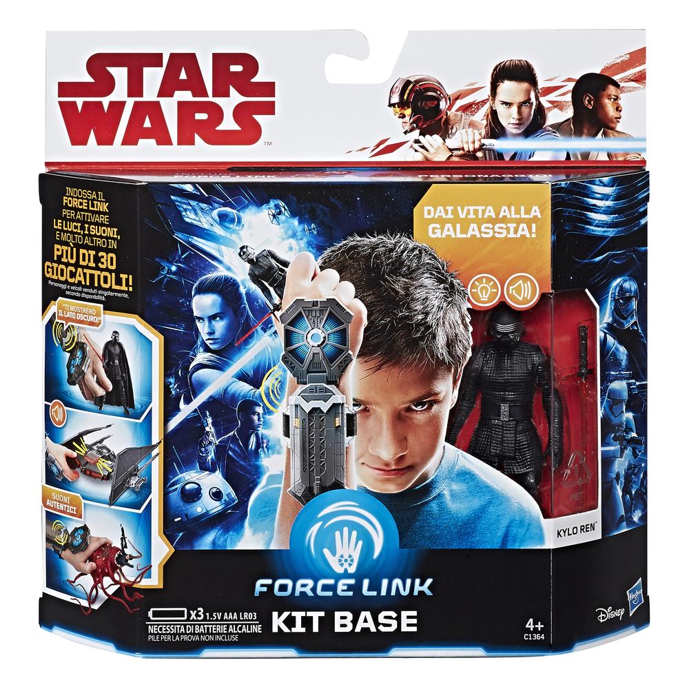 1aad53887e Star Wars - Kylo Ren Personaggio Action Figure con Accessori e Kit Base  Bracciale