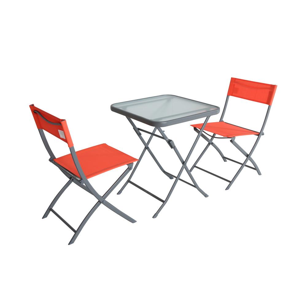 Auchan Tavoli Da Esterno.Gardenstar Set Balcone 2 Sedie Tavolo Shop Online Su Auchan