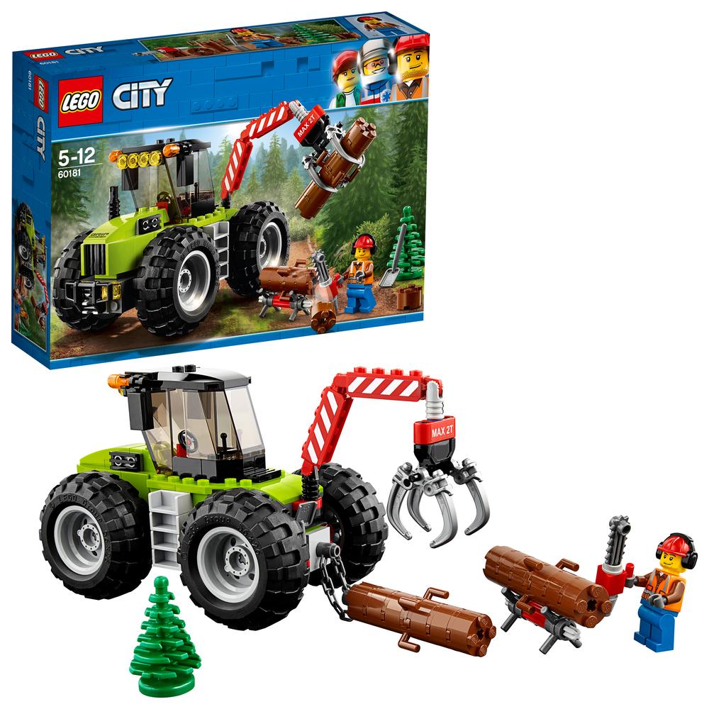 Ombrellone A Braccio Auchan.Lego 60181 Trattore Forestale Shop Online Su Auchan