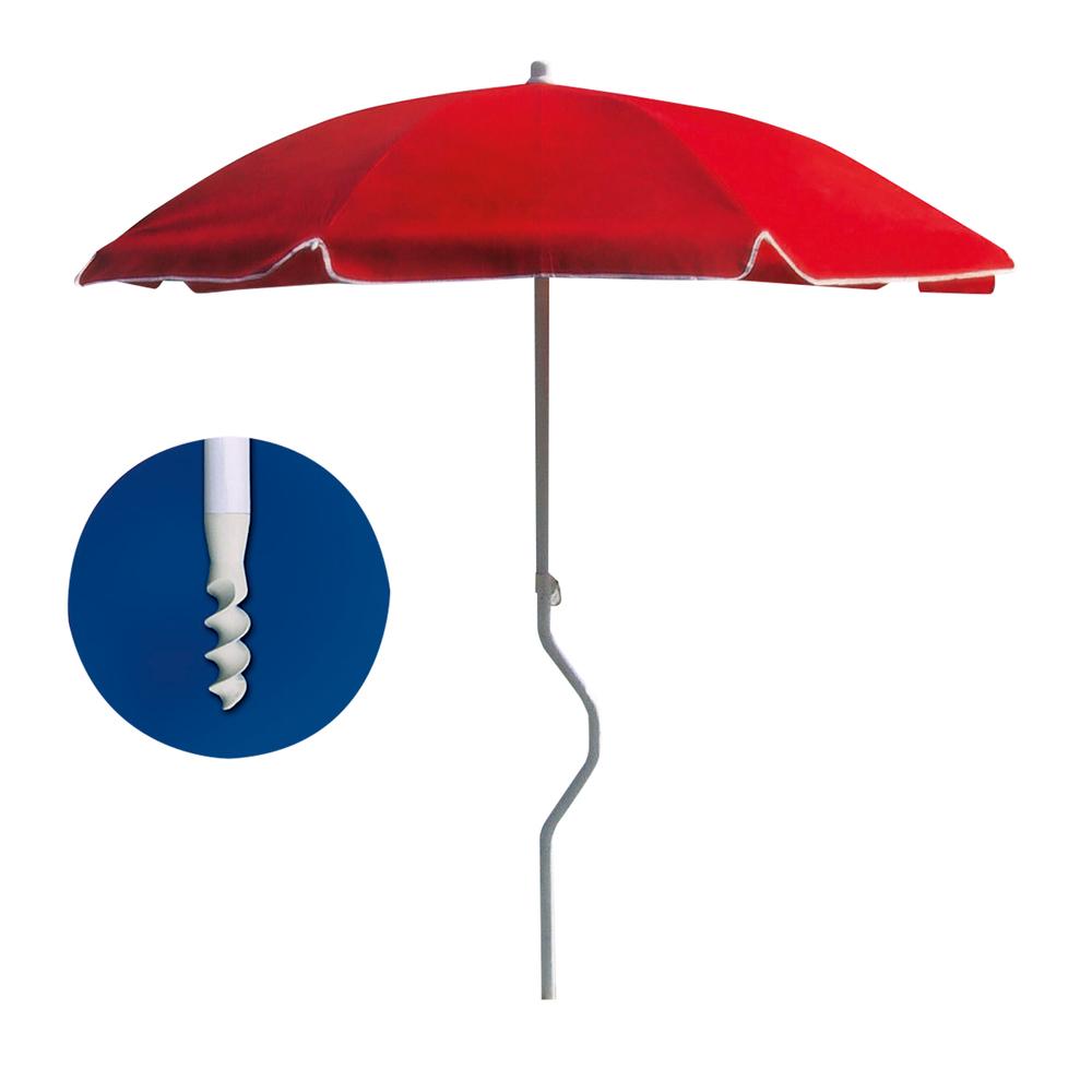 Disegni Di Spiaggia E Ombrelloni.Mbk Fincom Ombrellone Girafacile 200 Uv Protect Shop Online Su Auchan