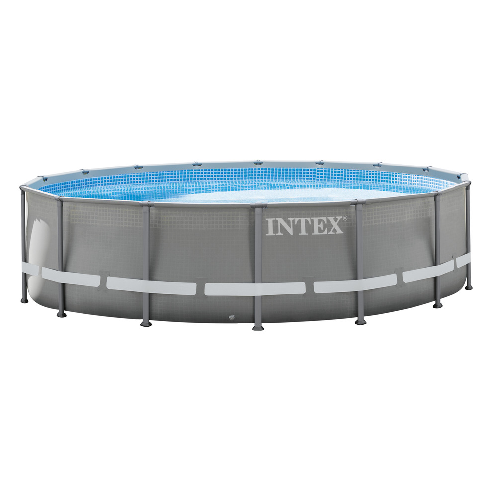 INTEX PISCINA ULTRA FRAME ROTONDA 488X122 CM POMPA FILTRO - shop ... 3080bb6950e7