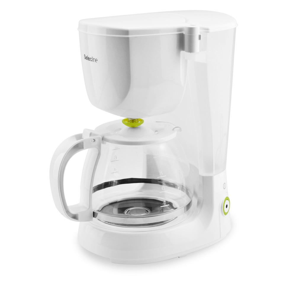 CM1090-GS, Libera installazione, Macchina da caffè con filtro, 1,25 L, Caffè macinato, Bianco