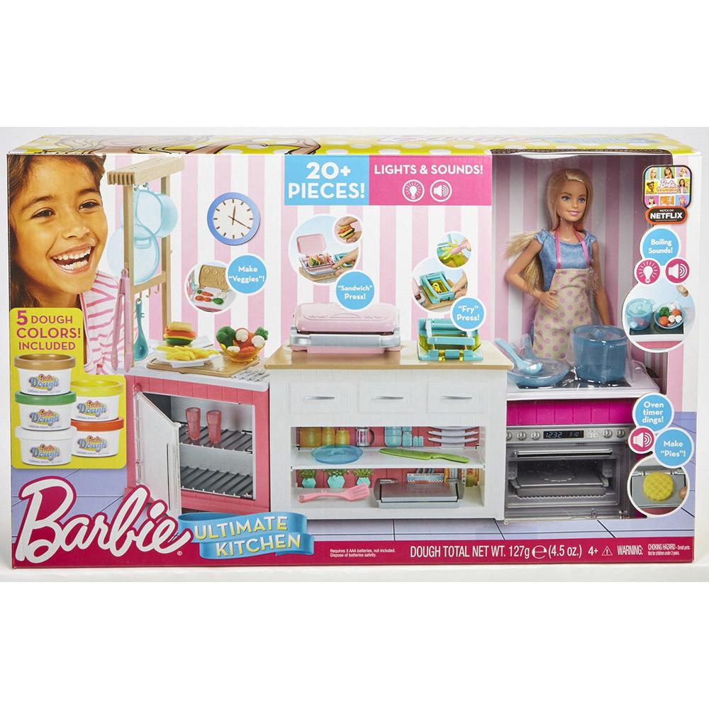 MATTEL BARBIE CUCINA DA SOGNO - shop online su Auchan