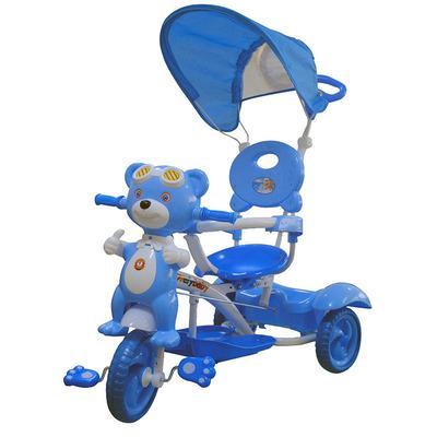 Triciclo Orsetto Blue Con Telaio In Metallo