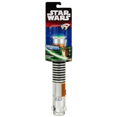 Star Wars: Gli Ultimi Jedi - Spada Laser Lightsaber Base Bladebuilders (colori assortiti: verde, blu, rossa)
