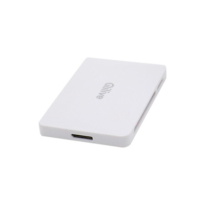 Q.2840, MS Micro (M2), Memory Stick (MS), MicroSD (TransFlash), SD, USB, Bianco, Acrilonitrile butadiene stirene (ABS), Policarbonato, Windows 10,Windows 2000,Windows 2000 Professional,Windows 7,Windows 8,Windows XP Home,Windows XP..., Mac OS 8.6