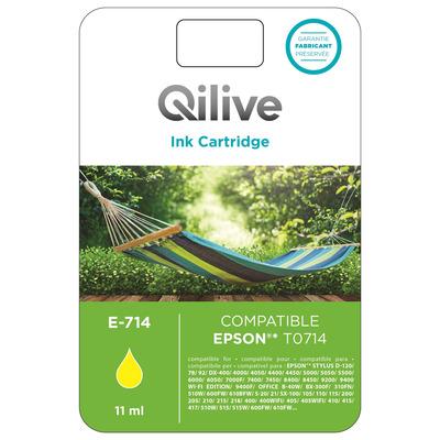 Cartucce compatibili Epson - E-714 GIALLO