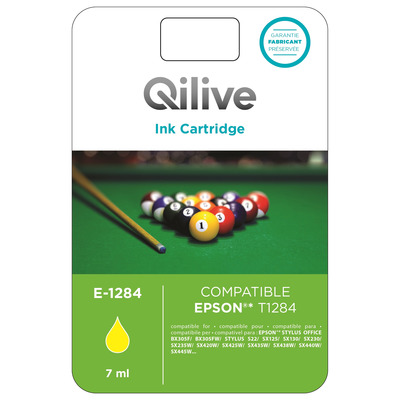 Cartucce compatibili Epson - E-1284 GIALLO