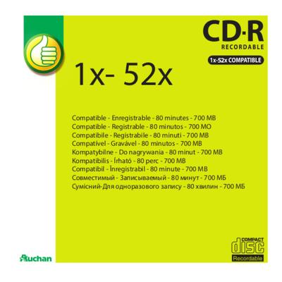 BM) CDR80 52X SLEEVE
